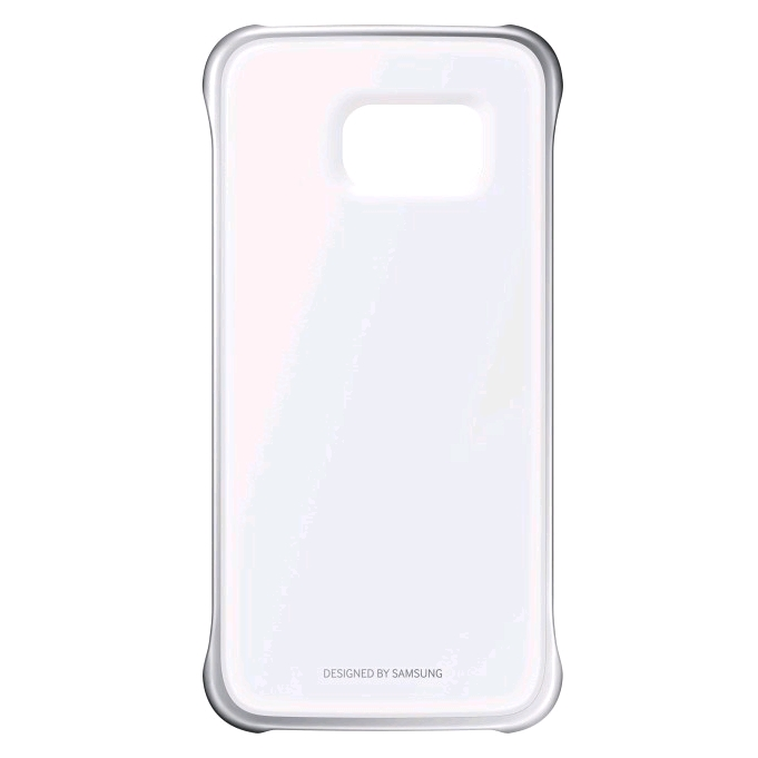 new styles 06de0 d6fad Samsung Clear Cover for Samsung Galaxy S6 edge Silver
