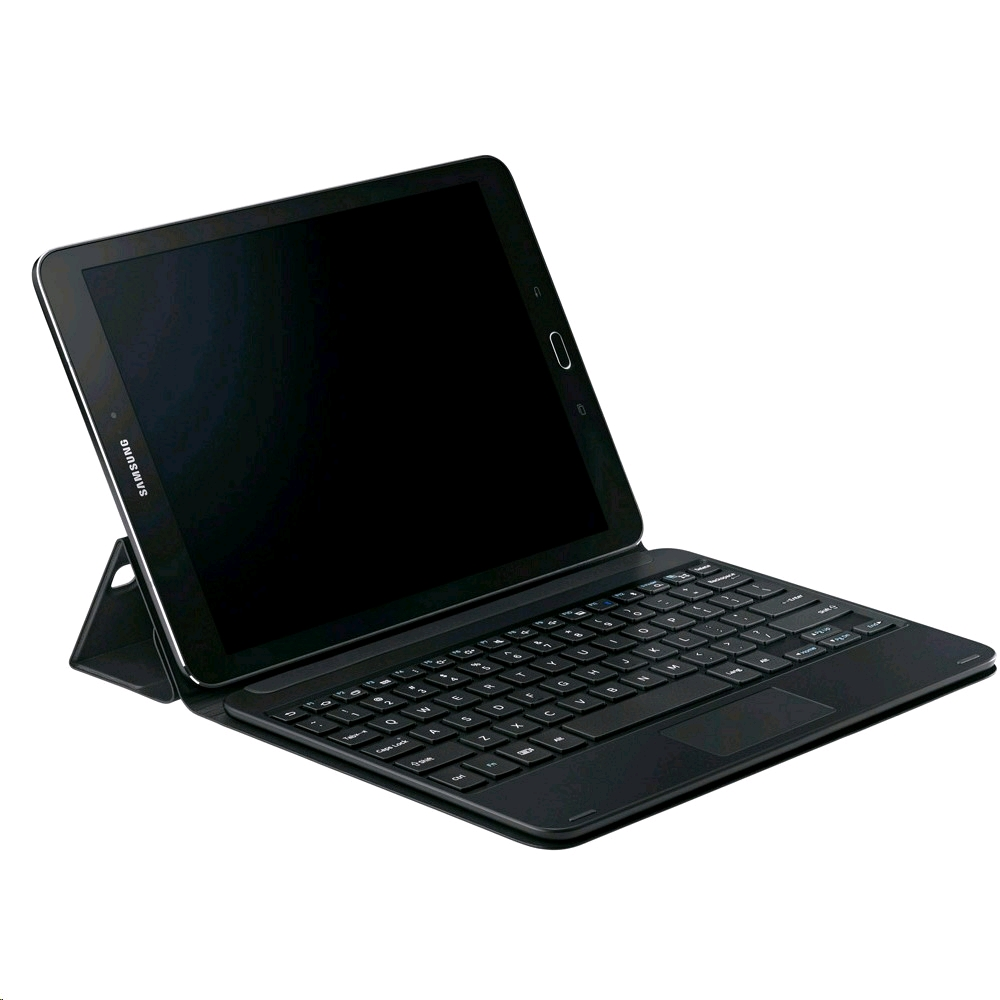 meet 3173d 7f8bf Samsung Book Cover Keyboard EJ-FT810 for Galaxy Tab S2 9.7 QWERTY, Black