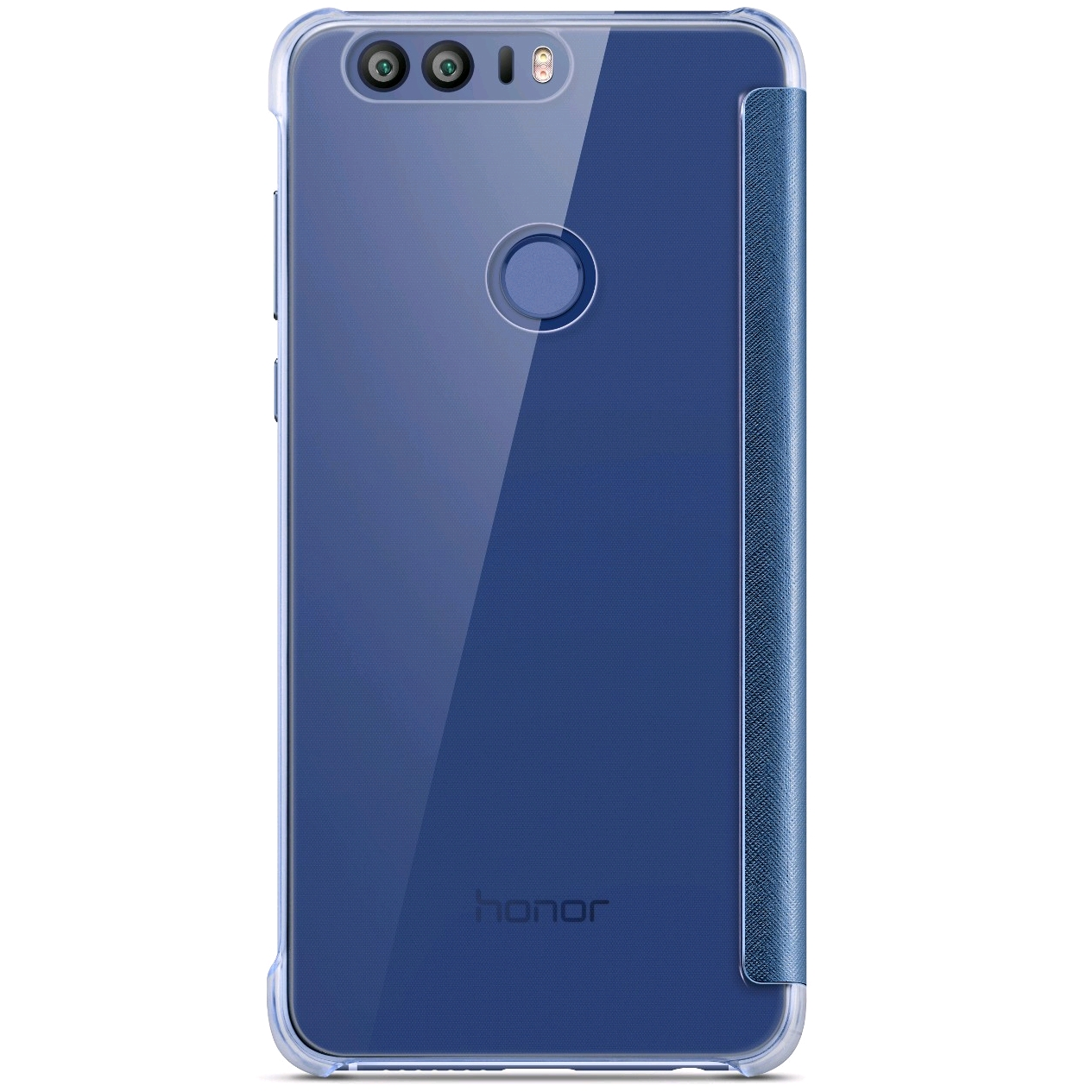honor 8 view flip cover blue vmall official huawei. Black Bedroom Furniture Sets. Home Design Ideas