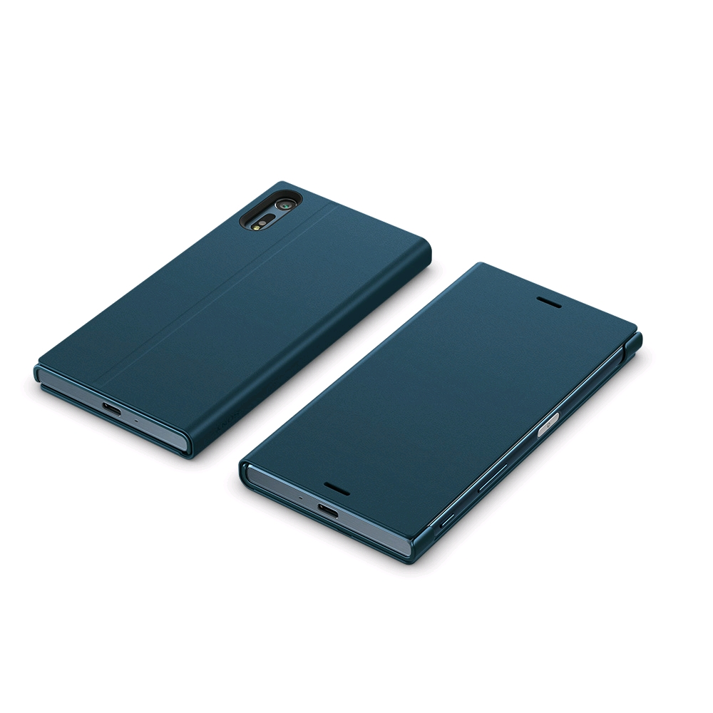 Sony Style Cover Stand SCSF10 for Xperia XZ Forest Blue
