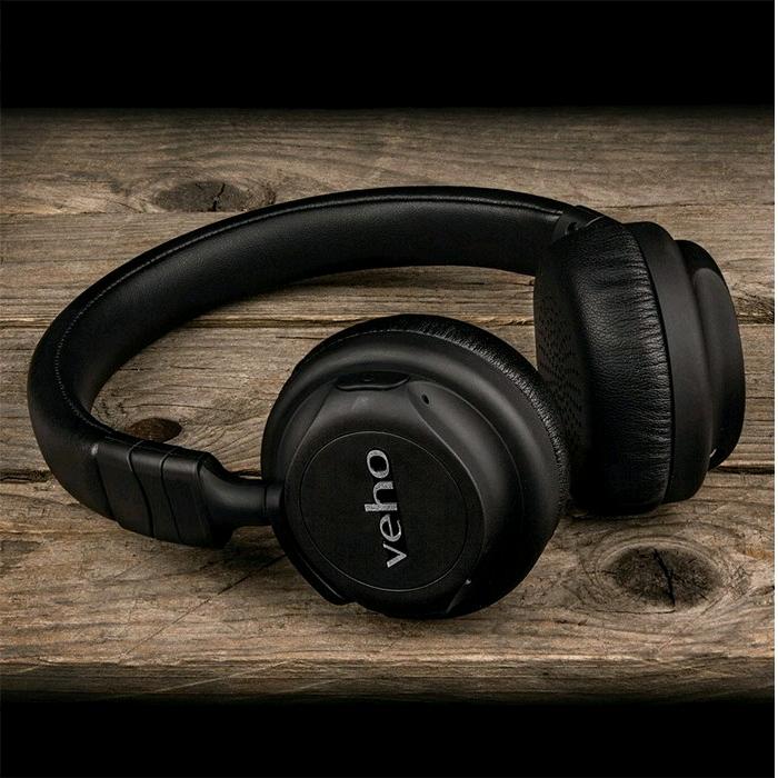 Veho ZB-5 On-Ear Wireless Bluetooth Headphones (Foldable ...