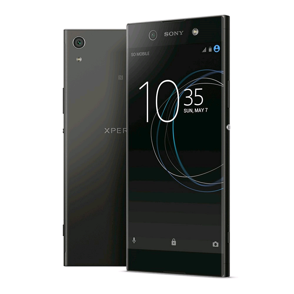 buy sony xperia xa1 ultra black uk ie official sony. Black Bedroom Furniture Sets. Home Design Ideas