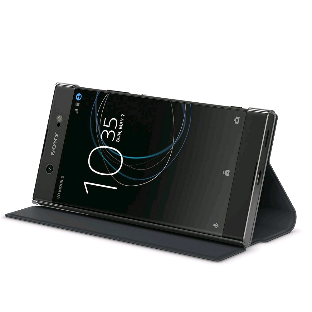 buy popular 95e1f 12c00 Sony Style Cover Stand SCSG40 for Xperia XA1 Ultra Black