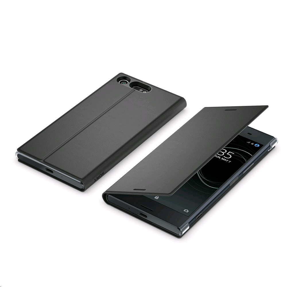 detailed look 3a606 e4235 Sony Style Cover Stand SCSG10 for Xperia XZ Premium Black, Special Offer