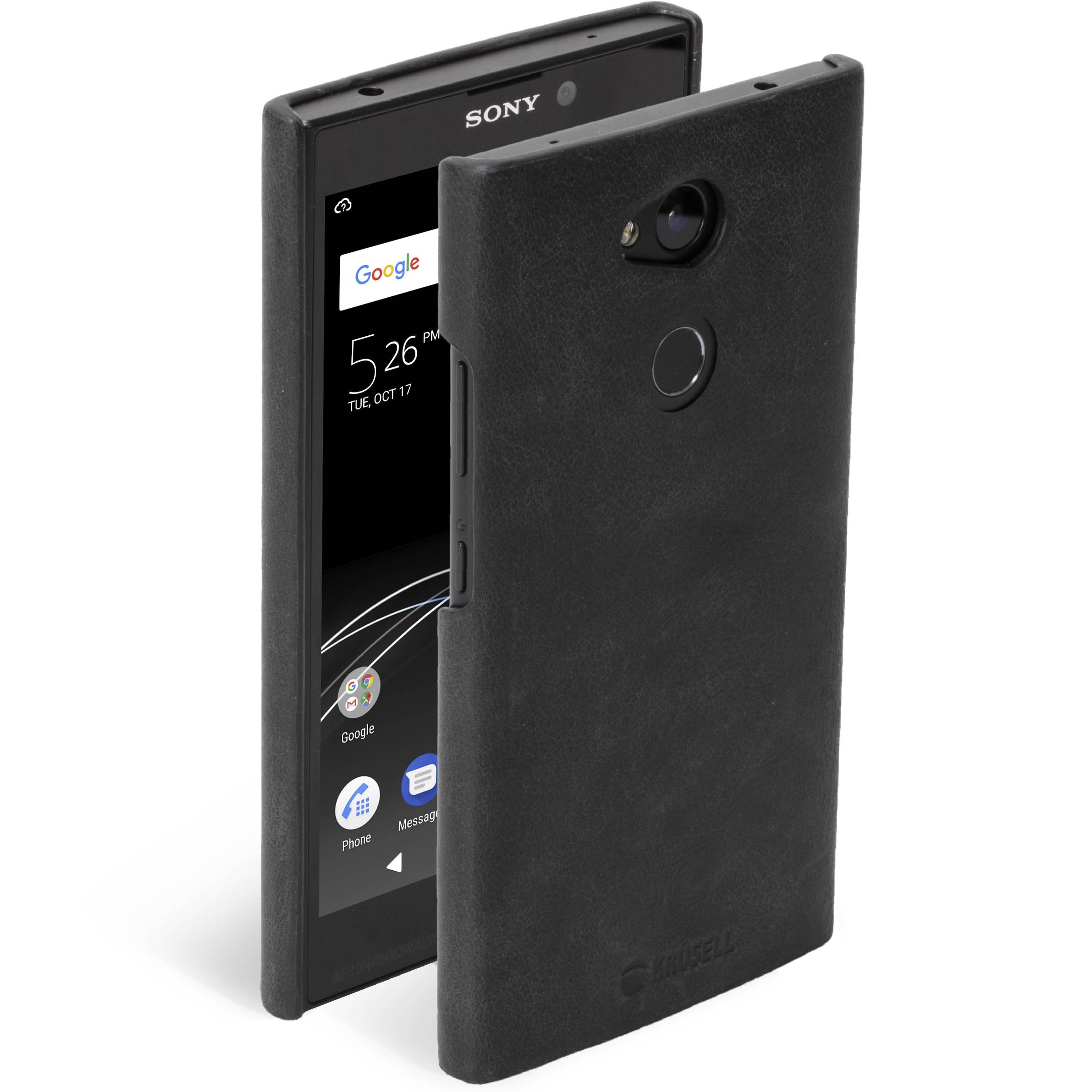 hot sale online c2a0b 3690f Krusell Sunne Cover Sony Xperia L2 Vintage Black Vintage Black