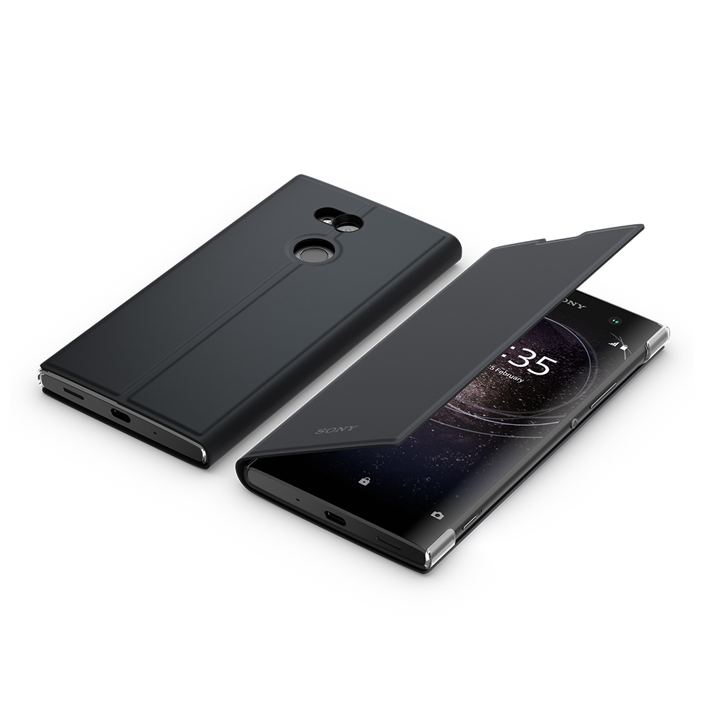 best service 82695 f63e1 Sony Style Cover Stand SCSH20 for Xperia XA2 Ultra Black, Special Offer