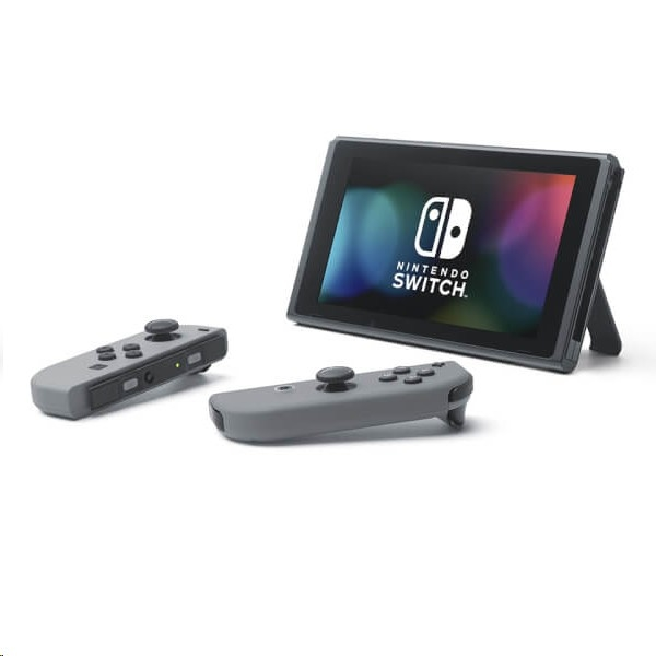 Nintendo Switch Console (with Grey Joy-Con Controllers) - EXPANSYS