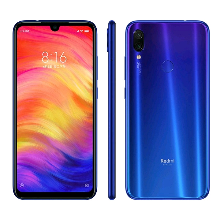 Xiaomi Redmi Note 7 Dual-SIM Global, 4GB/64GB, Blue
