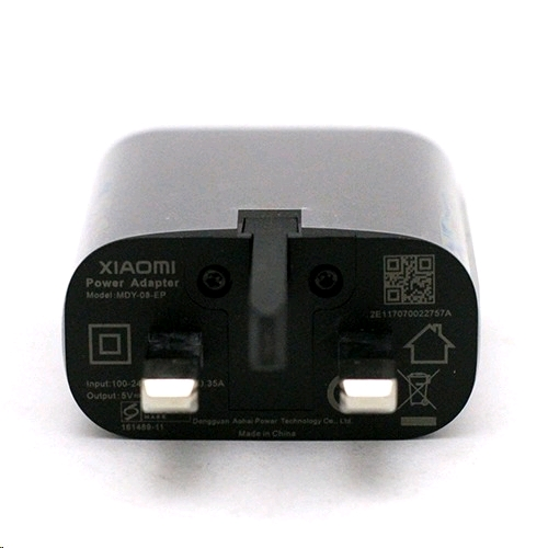 Xiaomi Travel Adaptor Wall Charger MDY-08-EP (Black, UK / 3 Pin ...
