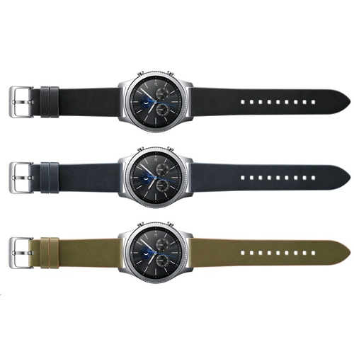 Samsung Gear S3 Classic Leather Band - (6)