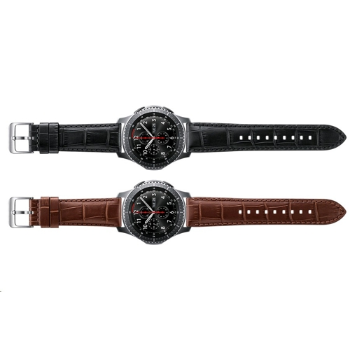 Samsung Gear S3 Aligator Grain Leather Band - (2)