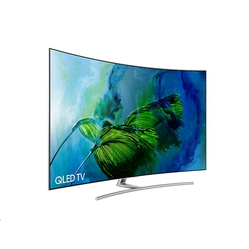 "Samsung 75"" QLED TV 4K Curved Q8C - (4)"