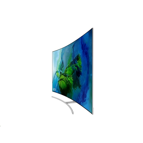 "Samsung 75"" QLED TV 4K Curved Q8C - (7)"