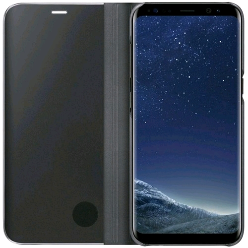 Samsung Galaxy S8 Clear View Standing Cover - (3)