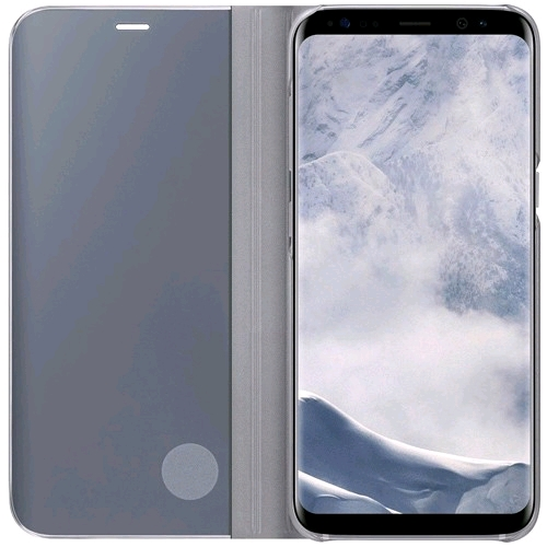 Samsung Galaxy S8+ Clear View Standing Cover - (3)