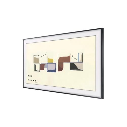"""Samsung 65"""" The Frame, inkl. extra ram (mörkt trä) - (7)"""