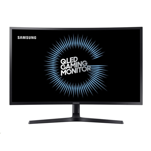 "Samsung 32"" QLED Curved Gaming Monitor CHG70 - (2)"