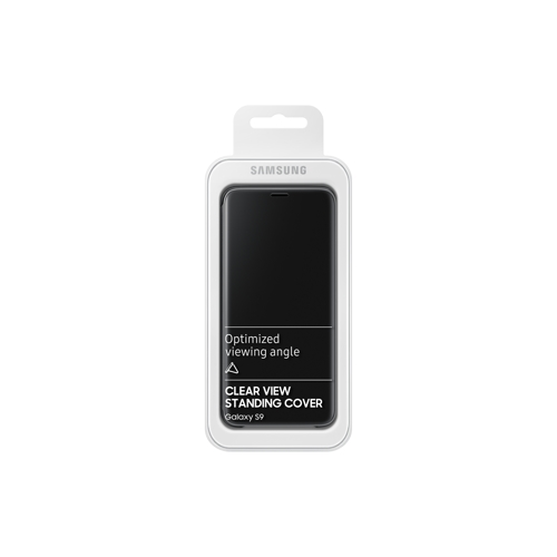 Samsung Galaxy S9 Clear View Standing Cover - (2)