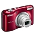 Nikon Coolpix A10 Digital Camera In Red