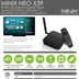 MiniX NEO X39 4K HDR Media Hub Android TV Box