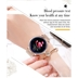 Tec Sante Blood Pressure & Menstrual Reminder Smart Watch SY12  for 血壓功能和女士生理週期提醒智慧手錶