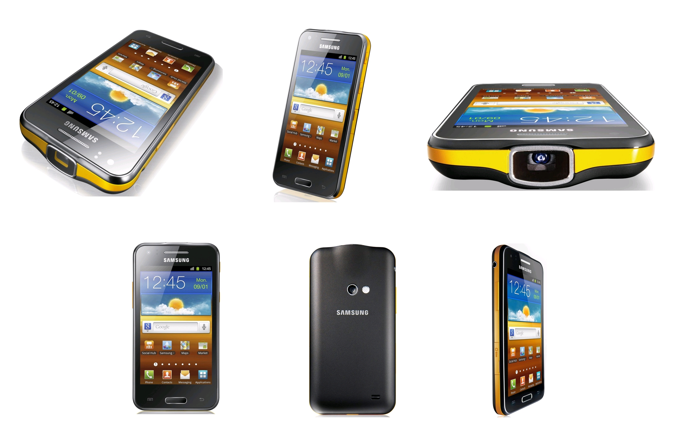 fa9ac17cec2 Samsung Galaxy Beam (Black/Yellow, KR Promotion) - EXPANSYS New Zealand