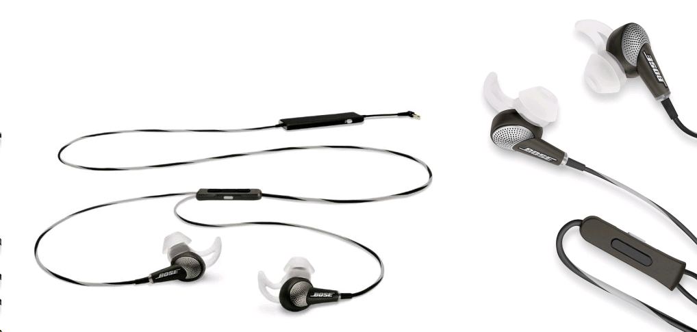 75758f29e88 Bose QC20 Acoustic Noise Cancelling Headphones for Android/BlackBerry/Windows,  Warm Gray