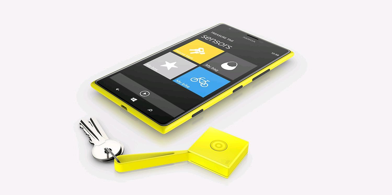 Nokia Treasure Tag Yellow, WS-2