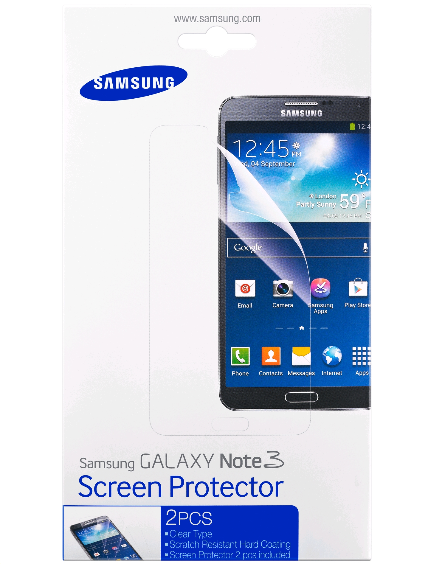 Samsung Screen Protector for Samsung Galaxy Note 3