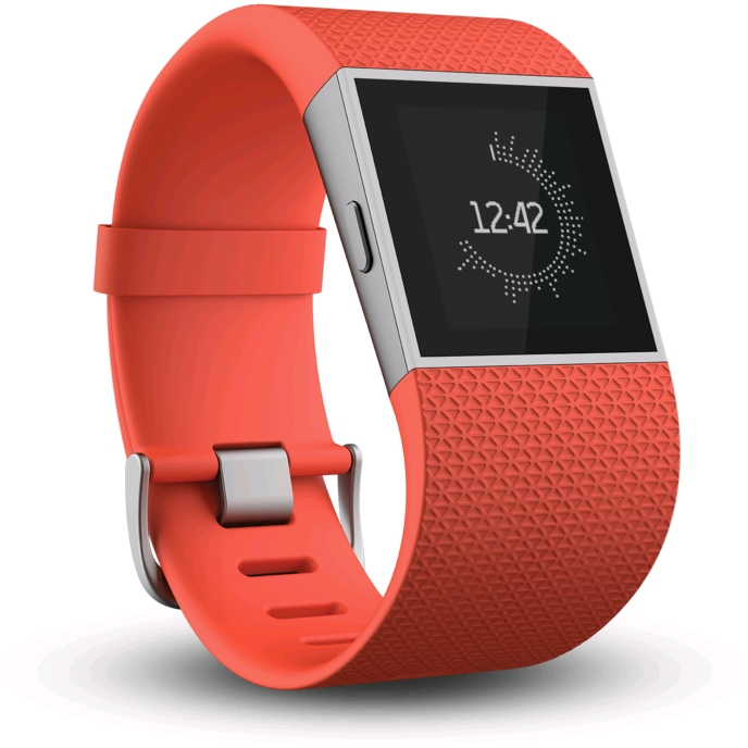 Fitbit Surge (Tangerine, Small) - EXPANSYS Australia