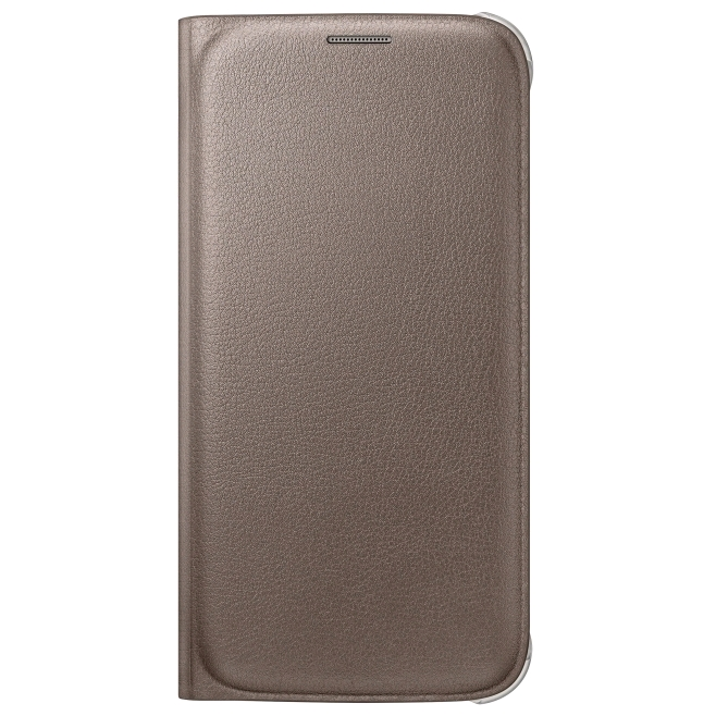 newest collection 85641 80955 Samsung Flip Wallet for Samsung Galaxy S6 Gold