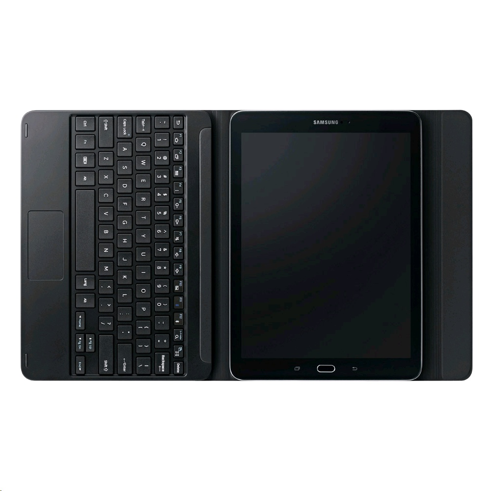 meet eed2c ae9cc Samsung Book Cover Keyboard EJ-FT810 for Galaxy Tab S2 9.7 QWERTY, Black