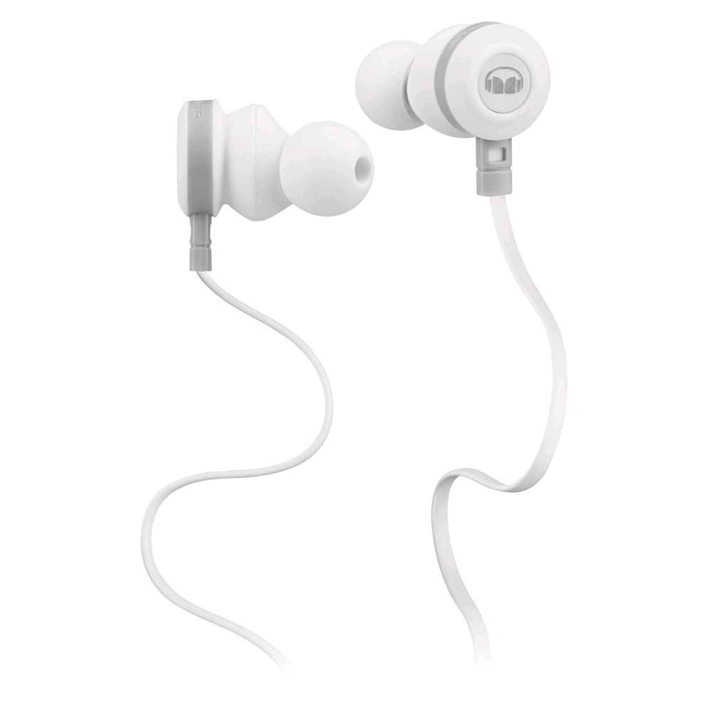 Monster Claritymobile High Performance In Ear Headset White Headphone Denon Ah Mm200