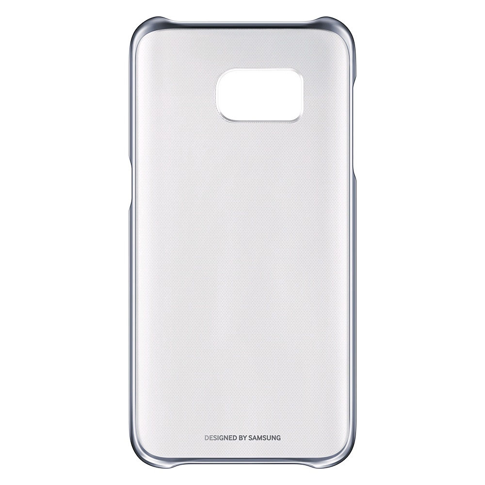 official photos 9df9d b0b58 Samsung Galaxy S7 Clear Cover EF-QG930 (Black) - EXPANSYS New Zealand