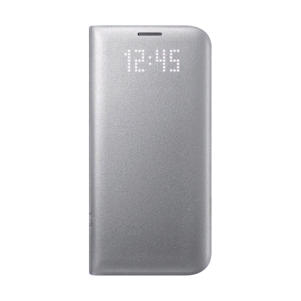best service 7120a 86c99 Samsung Galaxy S7 edge LED View Cover EF-NG935 Silver