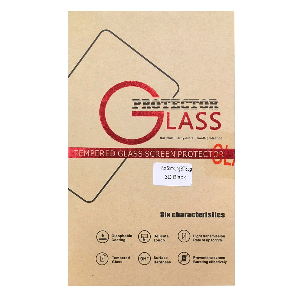 22 Cases Tempered Glass Screen Protector for Galaxy S7 edge
