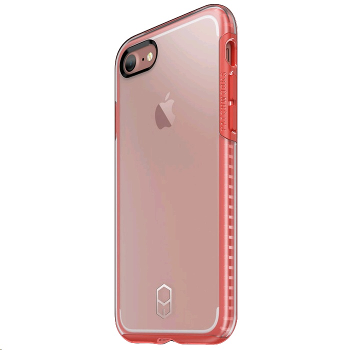 separation shoes 998a4 40ade Patchworks Level Clear Case for Apple iPhone 7 (Red) - EXPANSYS ...