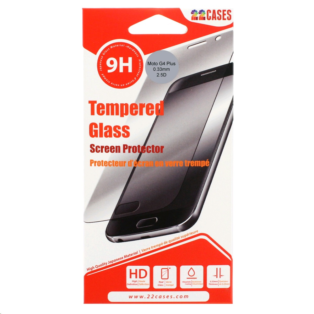 on sale 8c866 5858c 22 Cases Screen Protector for Motorola Moto G4 Plus Tempered Glass