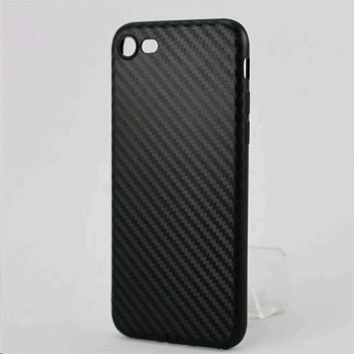 official photos 7033e dbc03 XBase Matte Silicone Rubber Case for Apple iPhone 8 Matte Black