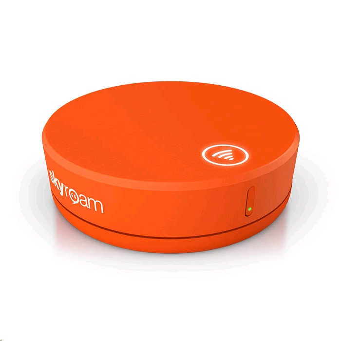 Skyroam Solis 4G LTE Global WiFi Hotspot + Power Bank SIM-Free, Unlimited  Data, with 1 Daypass