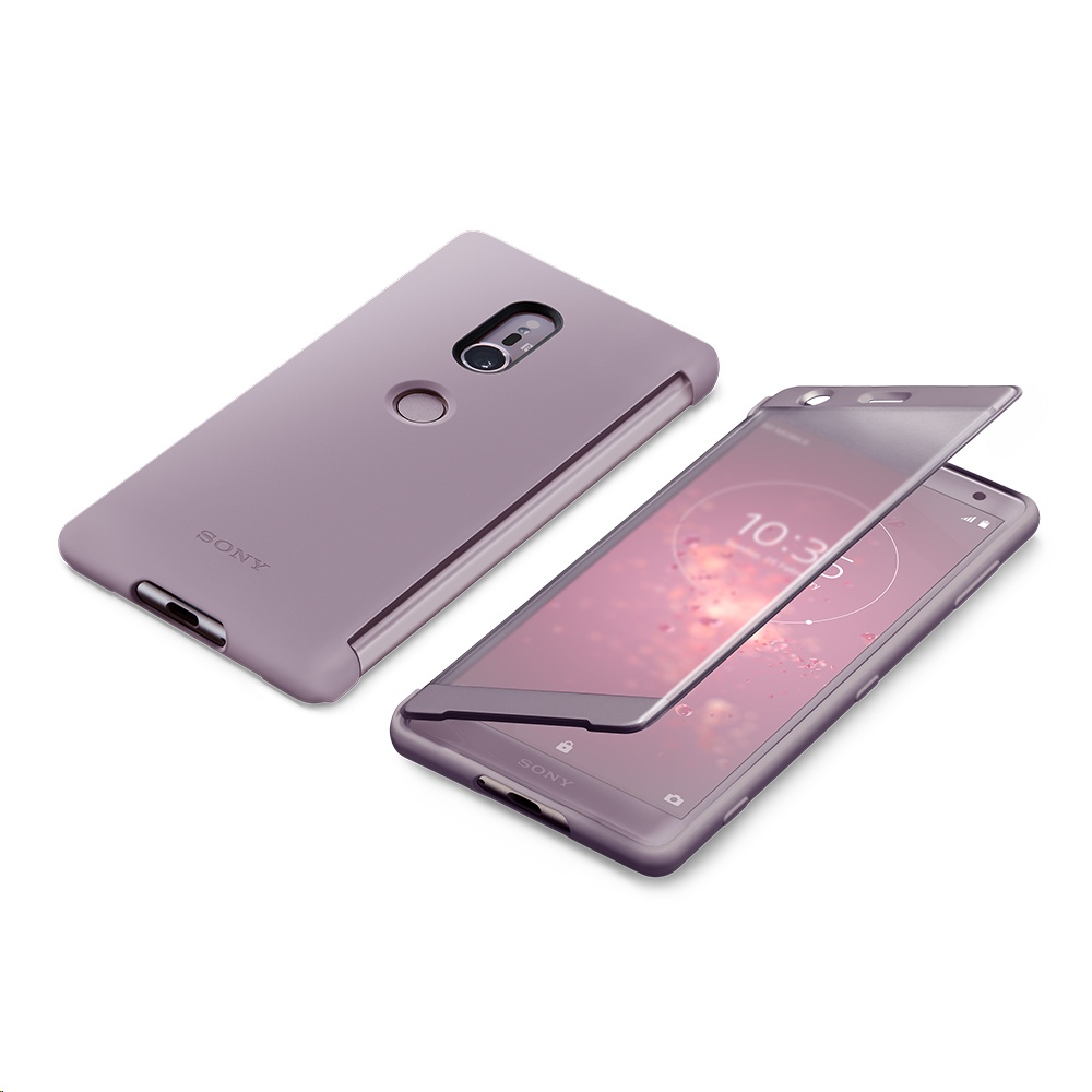 best sneakers f35bf b1411 Sony Style Cover Touch SCTH40 for Xperia XZ2 Pink