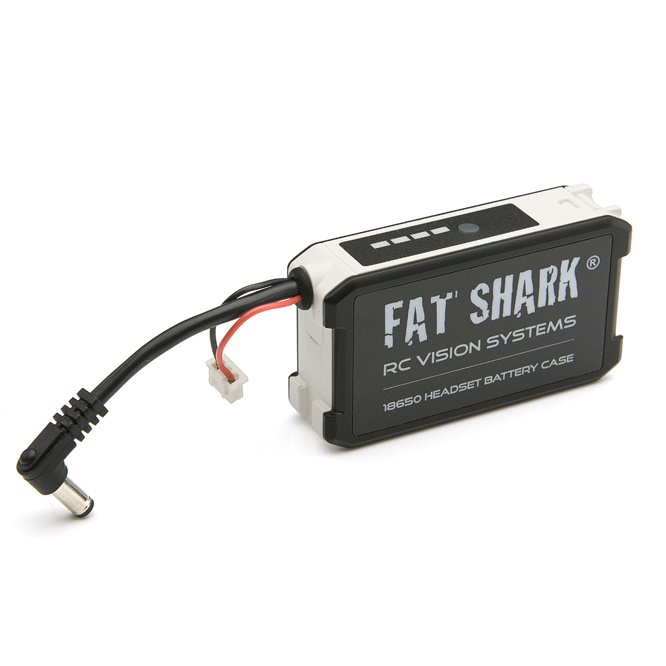 sports shoes 69cbe e60f6 Fat Shark 18650 Li-ion Cell Headset Battery Case Batteries Not Included