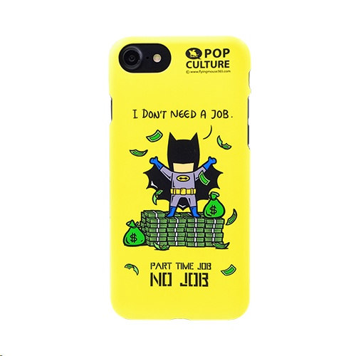 Sigema FlyingMouse365 Case for Apple iPhone 8/7 PC Hard Case, Part Time Job  - No Job