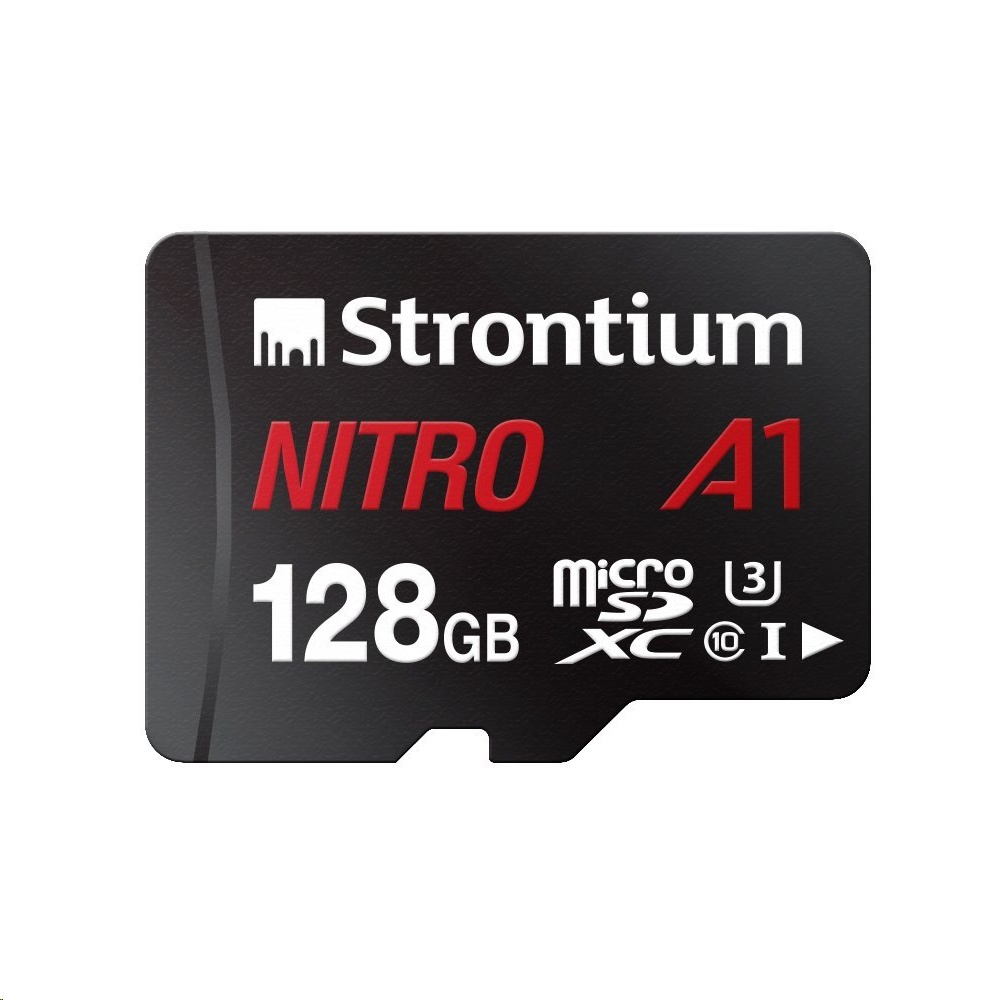 Strontium NITRO A1 MicroSDXC Card With Adapter (128GB