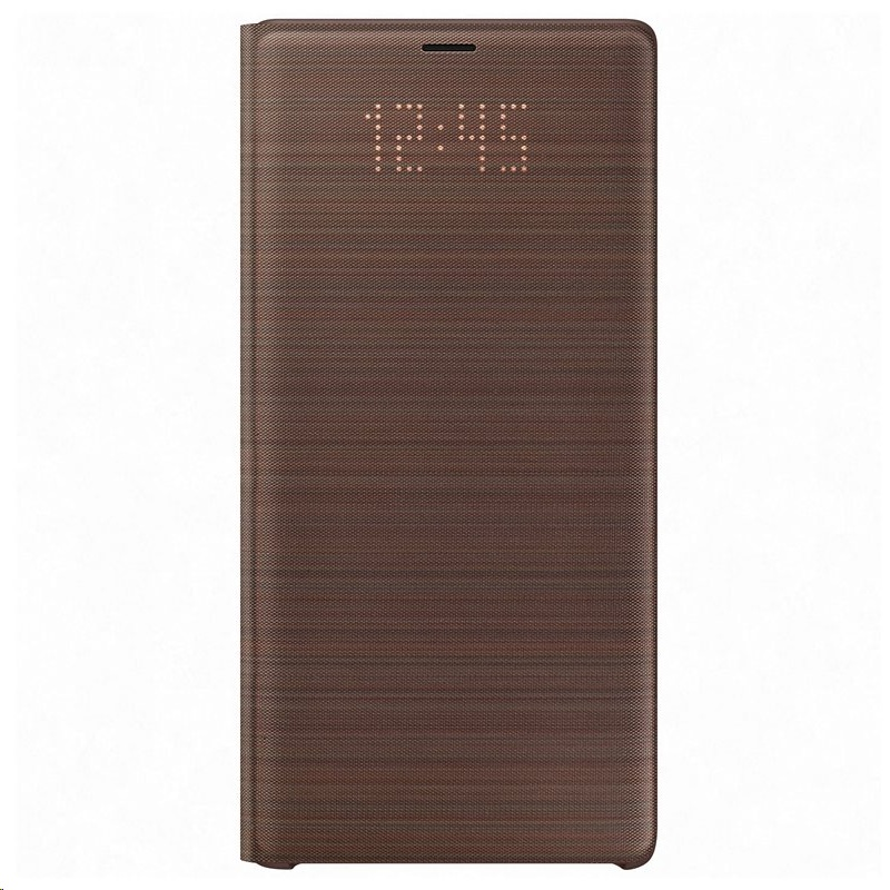 competitive price 4797b 5bb03 Samsung Galaxy Note9 LED View Cover EF-NN960 Brown