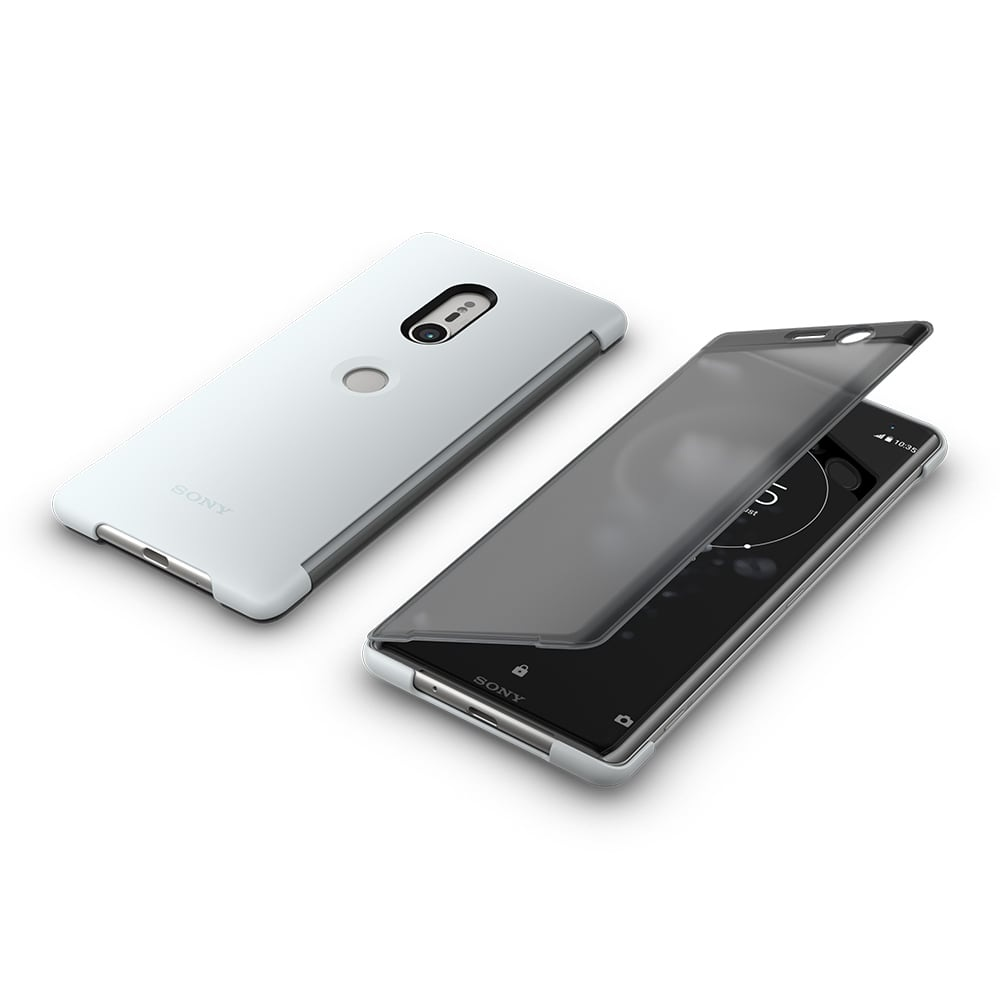 new arrival 40c89 c5250 Sony Style Cover Touch SCTH70 for XZ3 Gray