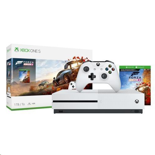 Microsoft Xbox One S with Forza Horizon 4 (1TB) - EXPANSYS UAE