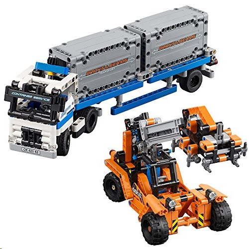 Lego 42062 Technic RContainer Yard Building Toy Set