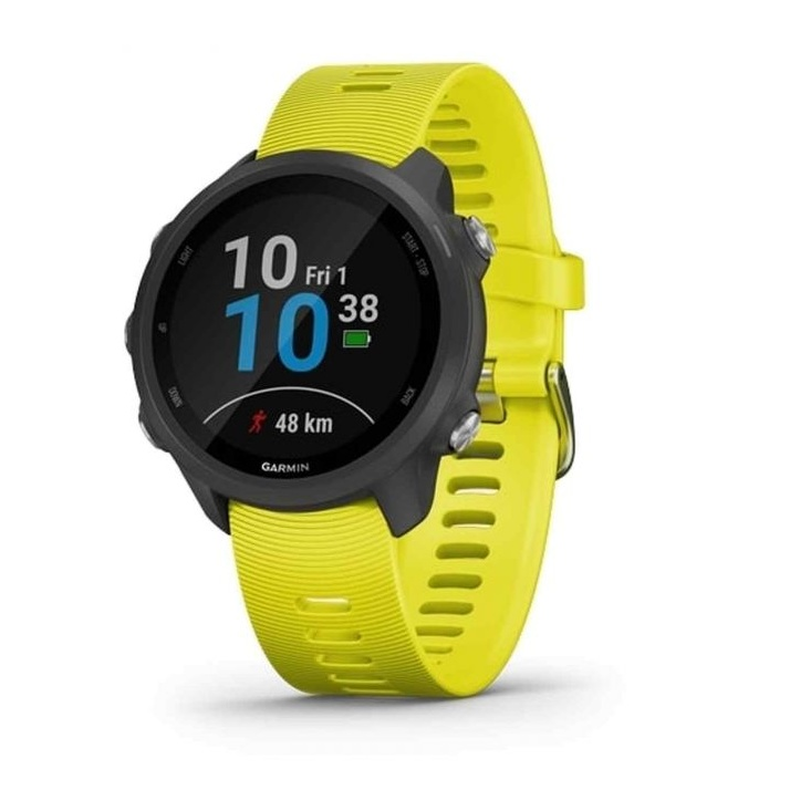 6341cc41d Garmin Forerunner 245 Music Smart Watch Black / Amp Yellow
