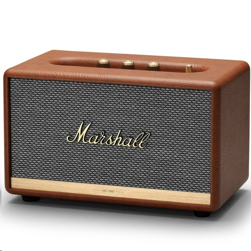 Marshall ACTON II Bluetooth Portable Speaker (Brown) - EXPANSYS Hong